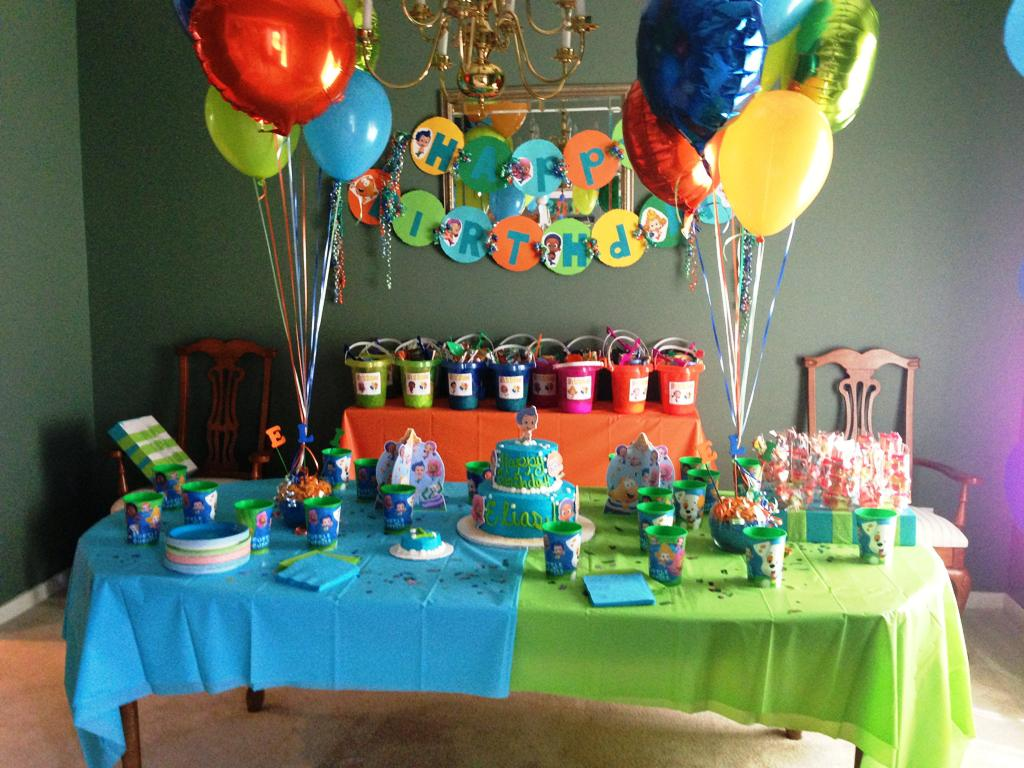 Table decoration ideas for birthday party