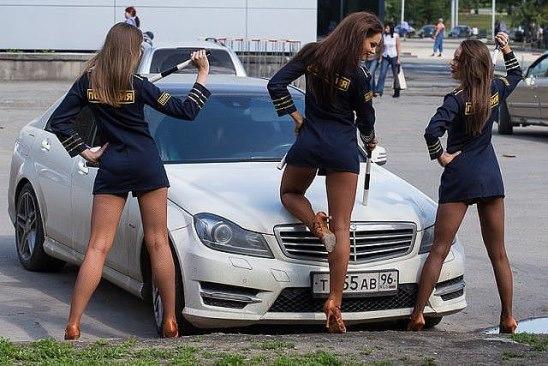 полиция девушки