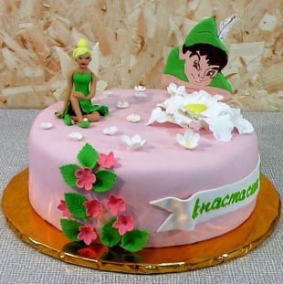 торт на день рождения питер пэн