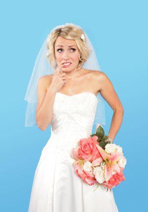 невеста забыла на свадьбу важные мелочи