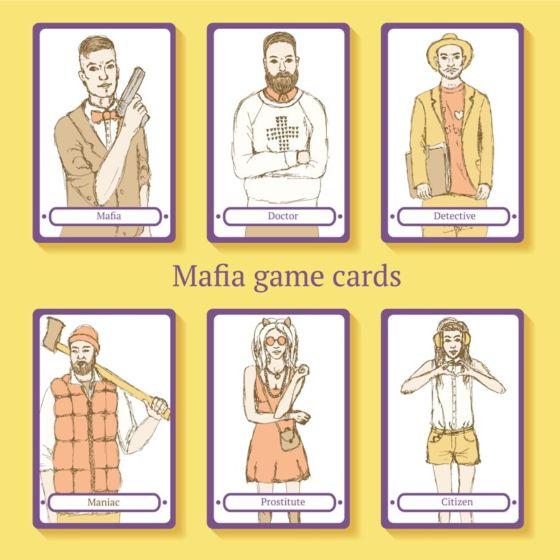 игра мафия английский день рождения сценарий